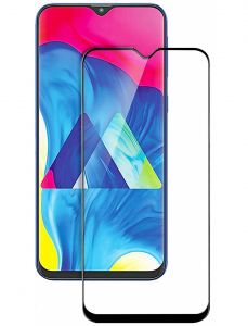 Folie sticla securizata Full Glue pentru Samsung Galaxy M10, Negru1