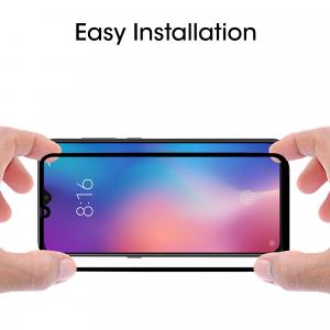 Folie sticla securizata Full Glue pentru Xiaomi Mi 9, Negru [2]