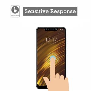 Folie sticla securizata Full Glue pentru Xiaomi Pocophone F1, Negru1