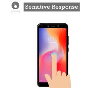 Folie sticla securizata Full Glue pentru Xiaomi Redmi 6, Negru [1]