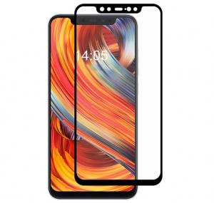 Folie sticla securizata Full Glue Xiaomi Mi 8, Negru [0]