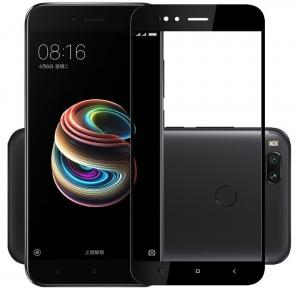 Folie sticla securizata Full Glue Xiaomi Mi A1, Black0