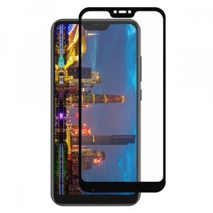 Folie sticla Xiaomi Mi A2 Lite Full Cover Full Glue, Negru0
