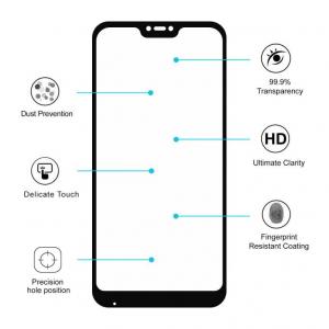Folie sticla Xiaomi Mi A2 Lite Full Cover Full Glue, Negru3