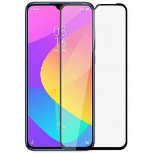 Folie sticla Xiaomi Mi A3 Full Cover Full Glue, Negru0