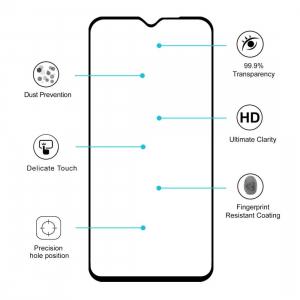 Folie sticla Xiaomi Redmi Note 8 Full Cover Full Glue, Negru1
