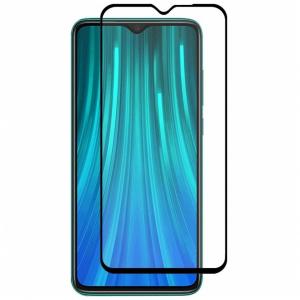 Folie sticla Xiaomi Redmi Note 8 Full Cover Full Glue, Negru0