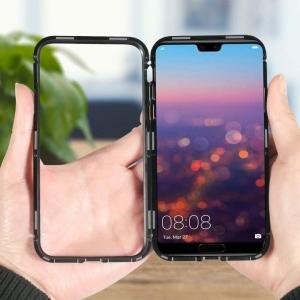 Husa 360 Magnetic Case pentru Huawei Honor 10, Negru [1]