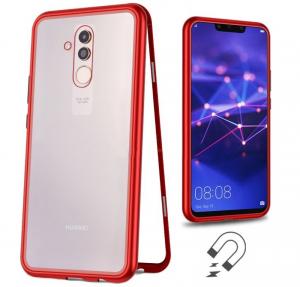 Husa 360 Magnetic Case pentru Huawei Mate 20 Lite, Red1