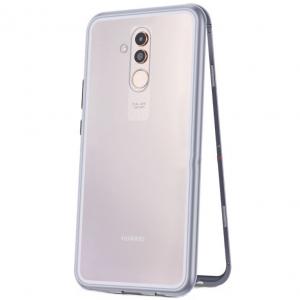 Husa 360 Magnetic Case pentru Huawei Mate 20 Lite, Silver0