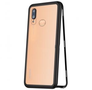 Husa 360 Magnetic Case pentru Huawei P20 Lite, Negru0