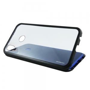 Husa 360 Magnetic Case pentru Huawei P20 Lite, Negru2