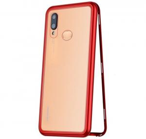 Husa 360 Magnetic Case pentru Huawei P20 Lite, Red0