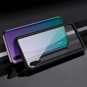 Husa 360 Magnetic Case pentru Huawei P20, Negru [2]