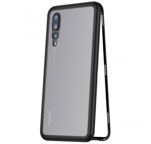 Husa 360 Magnetic Case pentru Huawei P20 Pro, Negru [0]