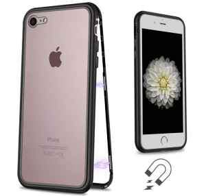 Husa 360 Magnetic Case pentru iPhone 7, Negru1