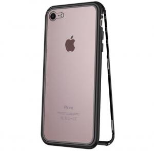 Husa 360 Magnetic Case pentru iPhone 8, Negru0