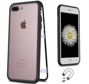 Husa 360 Magnetic Case pentru iPhone 8 Plus, Negru1