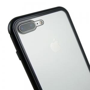 Husa 360 Magnetic Case pentru iPhone 8 Plus, Negru3