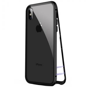 Husa 360 Magnetic Case pentru iPhone X, Negru [0]