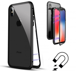 Husa 360 Magnetic Case pentru iPhone XS Max, Negru [1]