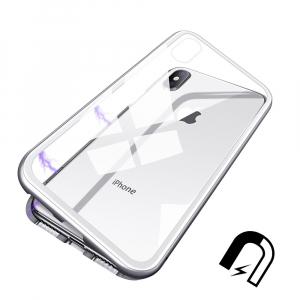 Husa 360 Magnetic Case pentru iPhone XS, Silver2