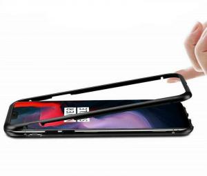 Husa 360 Magnetic Case pentru OnePlus 6, Negru1