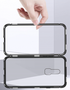 Husa 360 Magnetic Case pentru OnePlus 6, Negru2