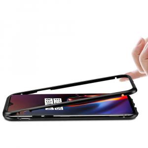 Husa 360 Magnetic Case pentru OnePlus 6T, Negru [3]