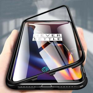 Husa 360 Magnetic Case pentru OnePlus 6T, Negru [1]