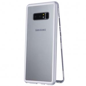 Husa 360 Magnetic Case pentru Samsung Galaxy Note 8, Silver0