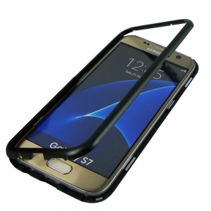 Husa 360 Magnetic Case pentru Samsung Galaxy S7, Negru [1]