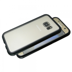 Husa 360 Magnetic Case pentru Samsung Galaxy S7, Negru [2]
