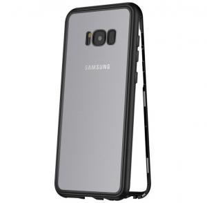 Husa 360 Magnetic Case pentru Samsung Galaxy S8 Plus, Negru0