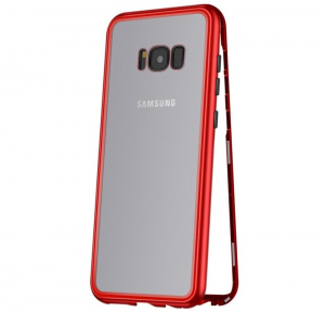 Husa 360 Magnetic Case pentru Samsung Galaxy S8 Plus, Red0