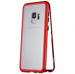 Husa 360 Magnetic Case pentru Samsung Galaxy S9 Plus, Red0