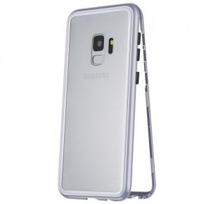 Husa 360 Magnetic Case pentru Samsung Galaxy S9, Silver [0]