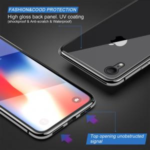 Husa 360 Magnetic Glass (sticla fata + spate) pentru iPhone XR, Negru [1]