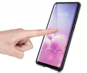 Husa 360 Magnetic Glass (sticla fata + spate) pentru Samsung Galaxy S10, Negru [2]