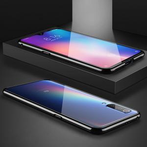 Husa 360 Magnetic Glass (sticla fata + spate) pentru Xiaomi Mi 9, Negru3