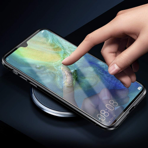 Husa 360 Magnetic Glass (sticla fata + spate) pentru Xiaomi Mi 9, Negru5