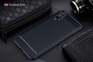 Husa Air Carbon Huawei P20, Dark Blue [1]