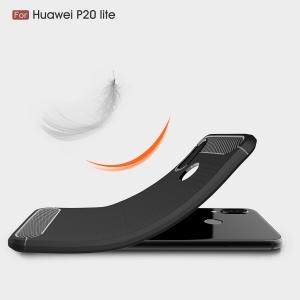 Husa Air Carbon Huawei P20 Lite, Negru3
