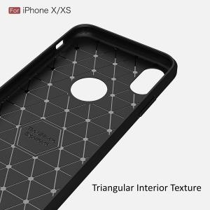 Husa Air Carbon iPhone X, Negru4