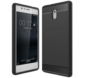 Husa Air Carbon Nokia 3, Negru [0]