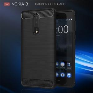 Husa Air Carbon Nokia 8, Negru2