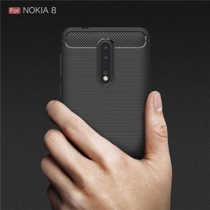 Husa Air Carbon Nokia 8, Negru1