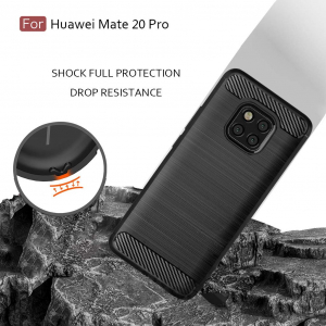 Husa Air Carbon pentru Huawei Mate 20 Pro, Negru3