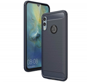 Husa Air Carbon pentru Huawei P Smart (2019), Dark Blue [0]