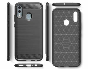 Husa Air Carbon pentru Huawei P Smart (2019), Negru1
